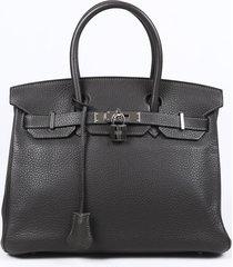 hermes birkin 30 graphite togo handbag
