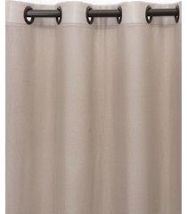 cortina  santista 180x280 barcelona camurca - marrom - dafiti