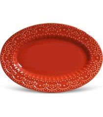 tigela esparta 24cm vermelho