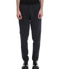 low brand t4.44 pants in blue viscose