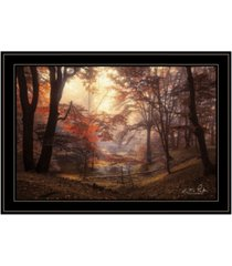 "trendy decor 4u the pool by martin podt, ready to hang framed print, black frame, 21"" x 15"""