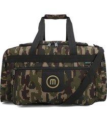 maleta grande macoly 277 lona verde militar