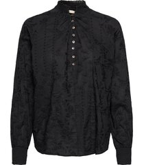 esther blouse blouse lange mouwen zwart odd molly