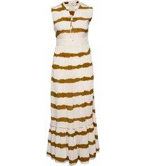 leighcr dress maxiklänning festklänning guld cream