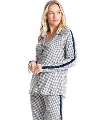 pijama longo abotoado fernanda