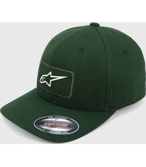 gorra verde oliva  alpinestars levest hat