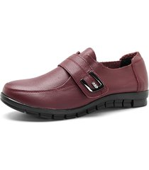soft strass gancio look piatto shoes