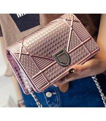 luxury dio rama metallic chain small crossbody messenger purse flap women bags