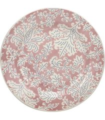 prato de sobremesa le floral rosa 19cm