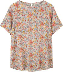blus ellis printed top
