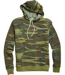 alternative apparel challenger eco fleece camo modern fit hoodie pullover