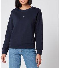 a.p.c. women's annie sweatshirt - dark navy - l