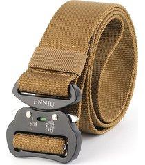 cinturón de hombres, 4.3 cinturón de nylon-marrón