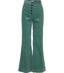 2nd curtis broek met wijde pijpen groen 2ndday