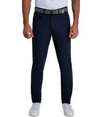 haggar men's active series slim-fit stretch tech dress pants