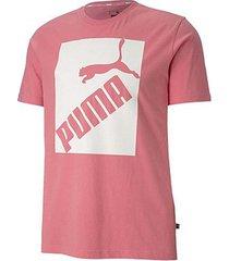 camiseta puma big logo masculina - masculino