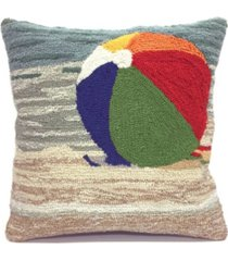 """liora manne frontporch life's a beach indoor, outdoor pillow - 18"""" square"""