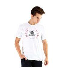 camiseta ouroboros manga curta beetle utopia