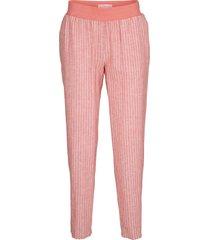 pantaloni in misto lino maite kelly (rosa) - bpc bonprix collection