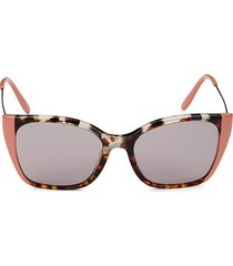 prada women's 54mm square sunglasses