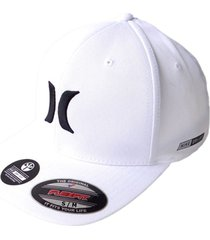 gorra hurley dri-fit one & only 37-blanco s/m