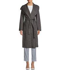 elliot long wool wrap coat