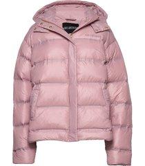 down jacket gevoerd jack roze han kjøbenhavn