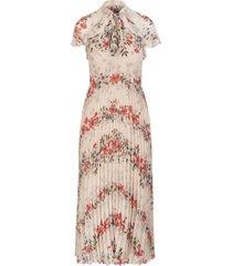 floral balances printed muslin dress