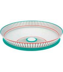 centro de mesa wheel triadic porcelana vista alegre atlantis