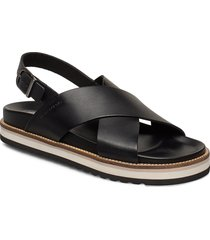 andrea 1b shoes summer shoes flat sandals svart marc o'polo footwear
