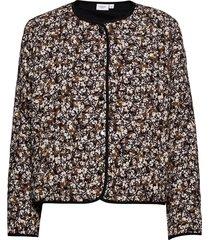 allizsz quilt jacket doorgestikte jas zwart saint tropez