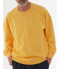 universal works oversized sweatshirt - sunshine 20170