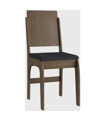 cadeira mdf 916 par marrom móveis cançáo