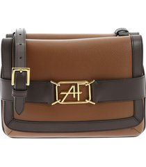 alberta ferretti - shoulder bag with logo