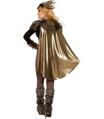 buyseasons women's viking valkyrie cape and shoulder pads