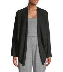 marth open-front cardigan sweater