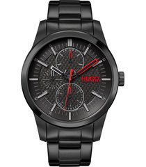 men's boss real multifunction bracelet watch, 46mm