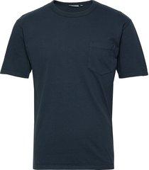haris t-shirts short-sleeved blå minimum