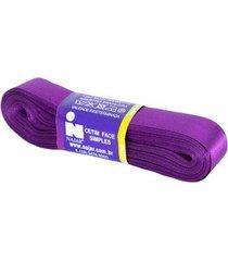 fita de cetim nº05 22mm peça com 10m roxo violeta