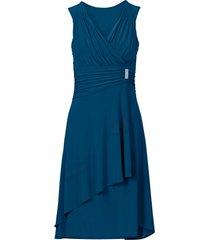 abito con applicazione gioiello (blu) - bodyflirt