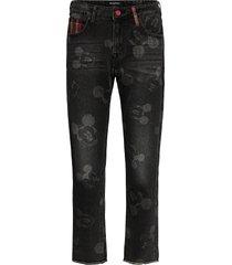 denim mery rechte jeans zwart desigual