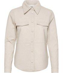 2nd diane overhemd met lange mouwen zilver 2ndday