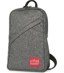 manhattan portage midnight ellis backpack with zipper pocket