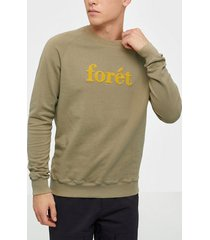 forét spruce sweatshirt tröjor khaki