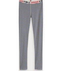 scotch & soda striped leggings