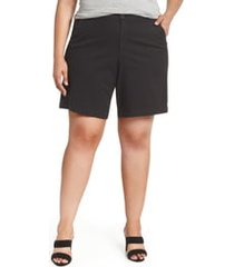 plus size women's nydj stretch twill bermuda shorts