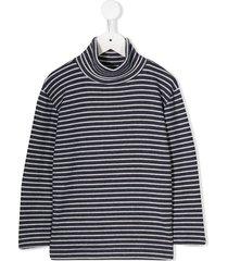 noon by noor mini freesia turtleneck sweatshirt - brown