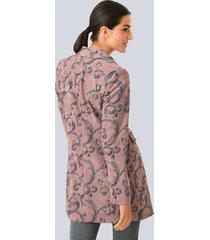 kavaj alba moda rosa::grå