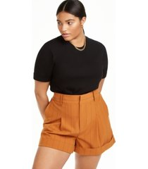 danielle bernstein plus size t-shirt bodysuit, created for macy's