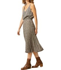 getty printed mid-length dress